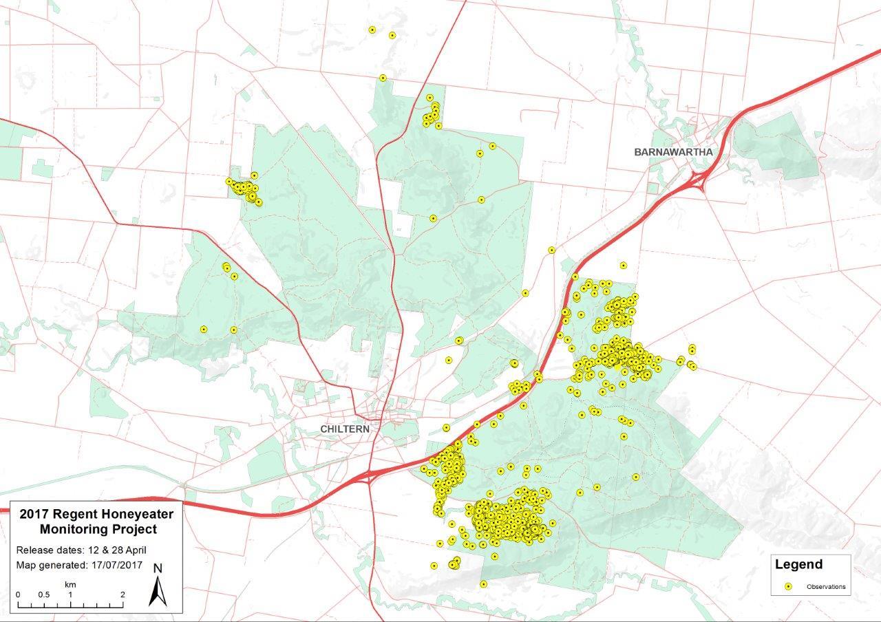 monitoring map 19 July