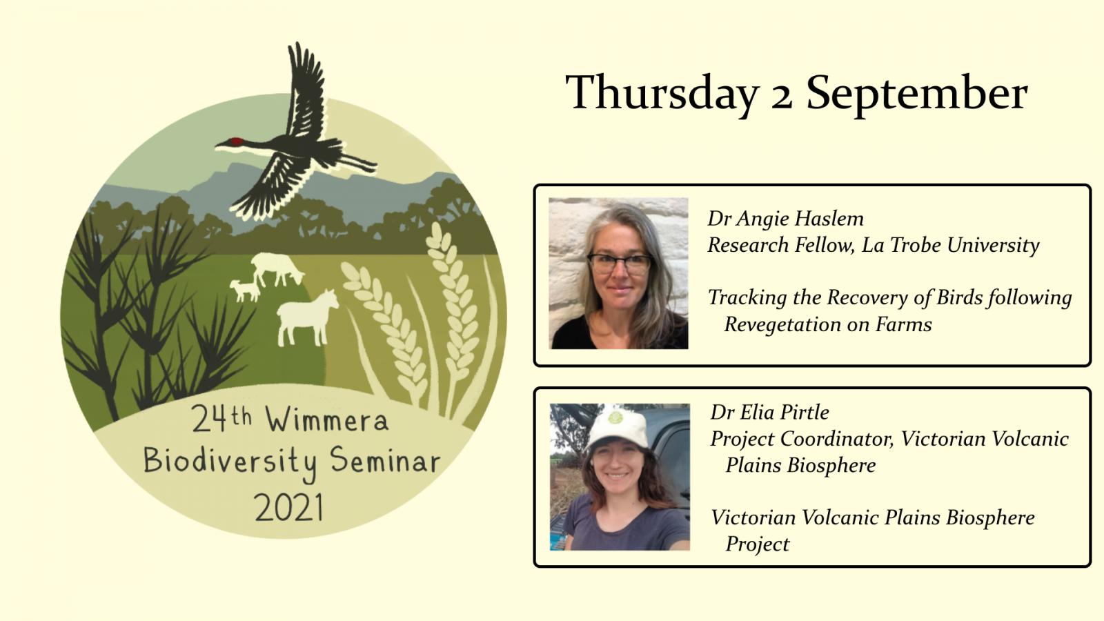 Wimmera biodiversity seminar week 1