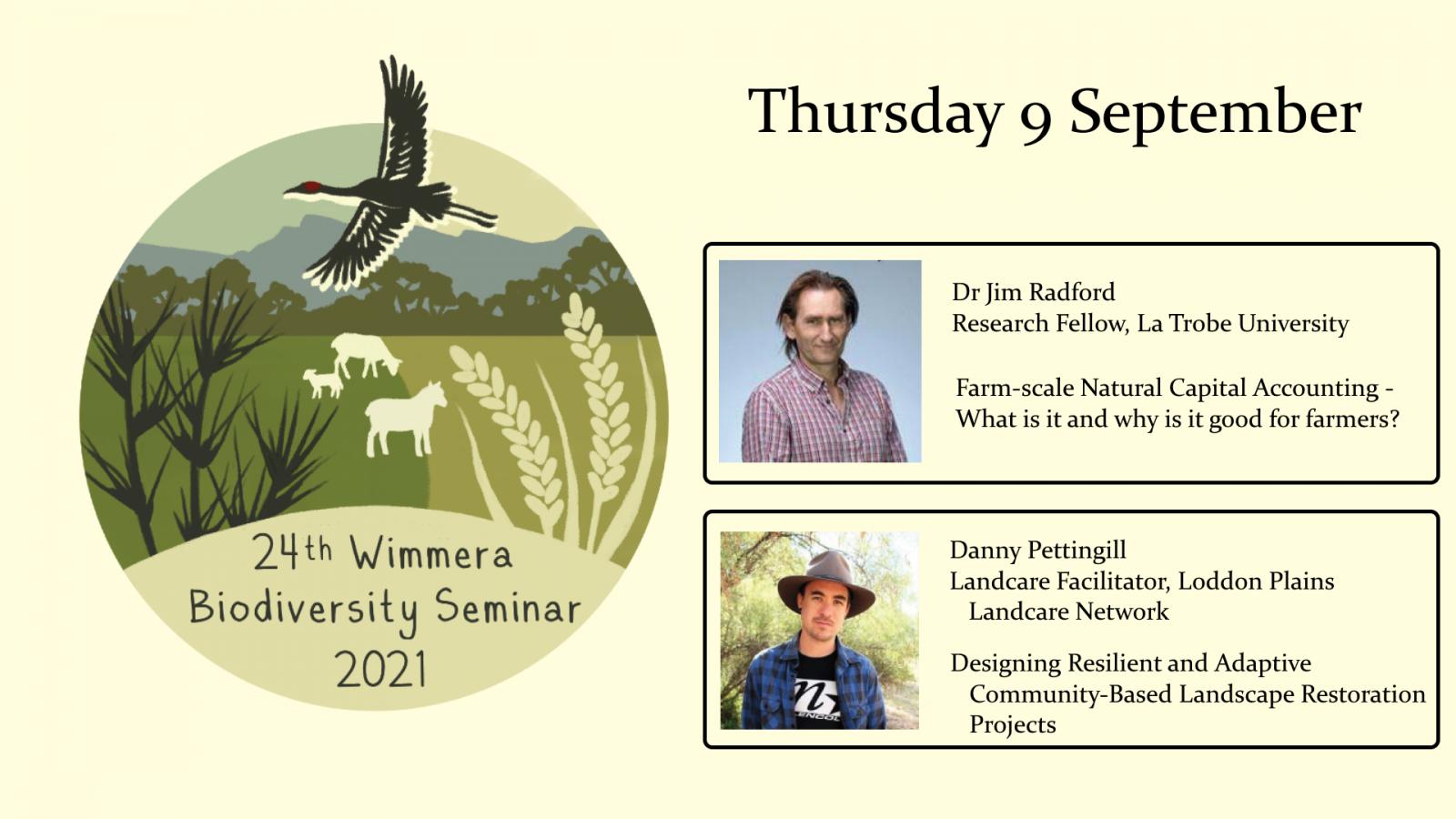 Wimmera biodiversity seminar week 2