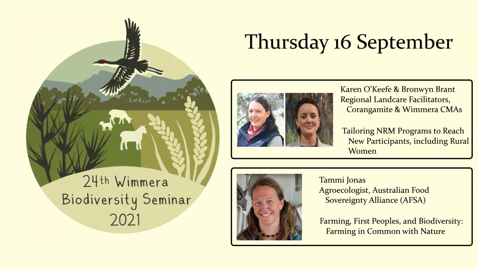 Wimmera biodiversity seminar week 3