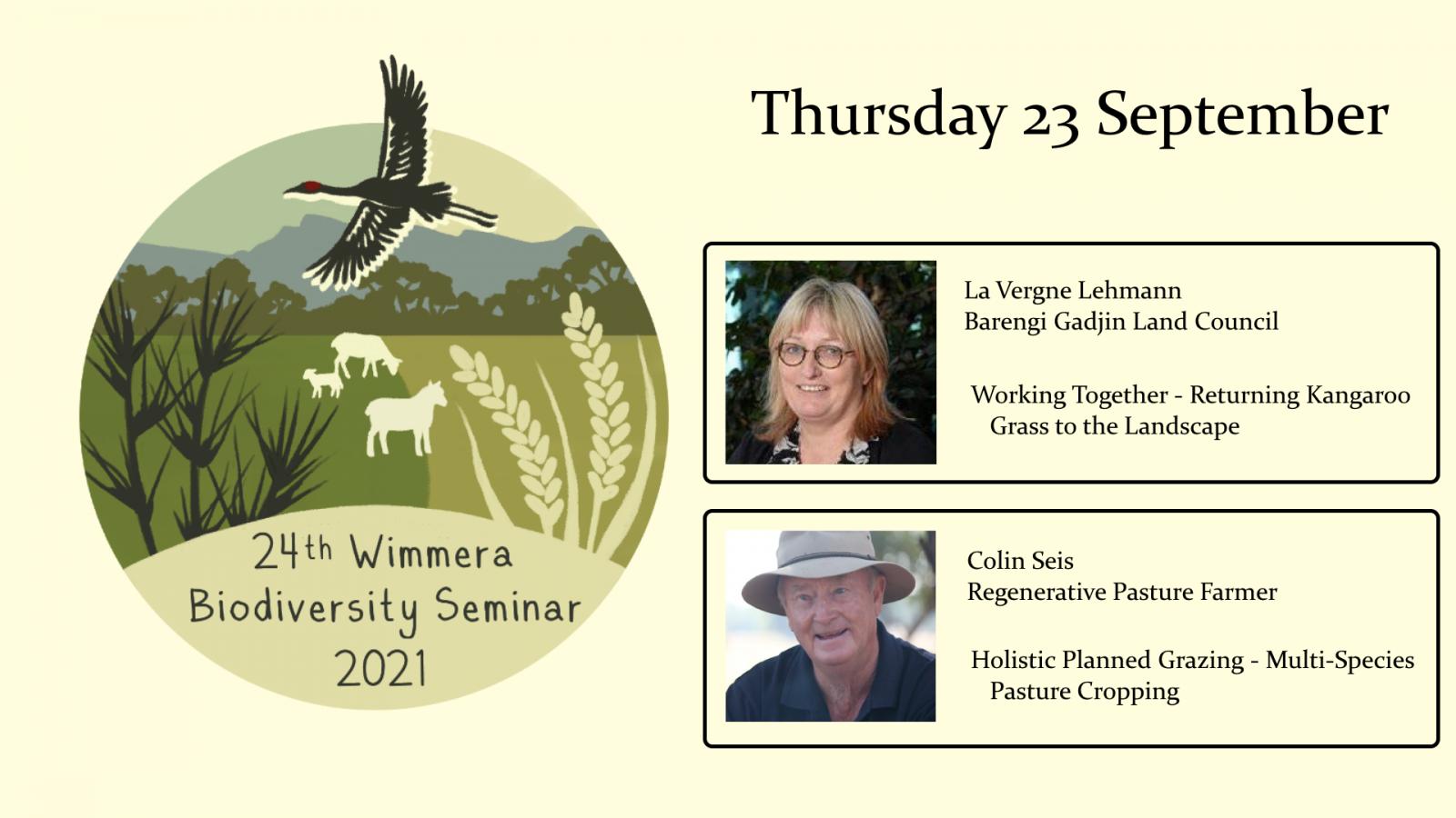 Wimmera biodiversity seminar week 4