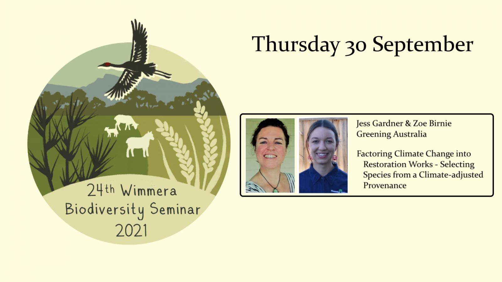 Wimmera biodiversity seminar week 5
