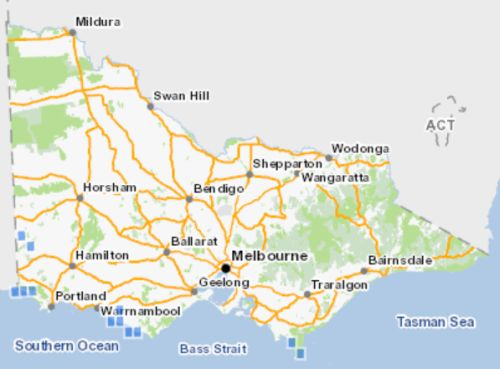 All known records of Swamp Greenhood in Victoria. Source: Victorian Biodiversity Atlas 2018