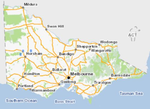 Wimmera Rice-flower map VBA