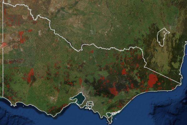 fires 3 Fire history Victoria 2010 to 2015