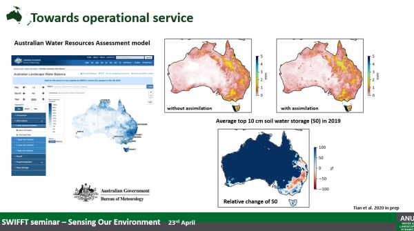 Siyuan Tian 4 Aust Water Resources Model from talk to SWIFFT 23 April 2020