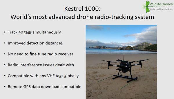 Saunders 2 Kestral Drone in talk to SWIFFT 23 April 2020