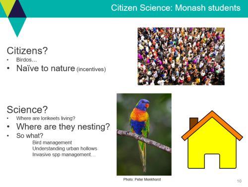 Hames 1 Video conf. Citizen Science