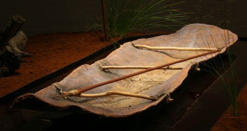 Gilby 3 bark canoe